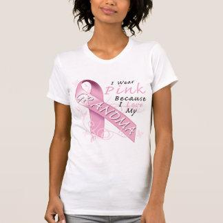 Llevo rosado porque amo a mi abuela camisas