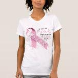 Llevo rosado porque amo a mi hermana camisetas