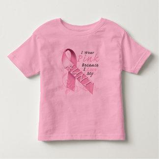 Llevo rosado porque amo a mi tía playera