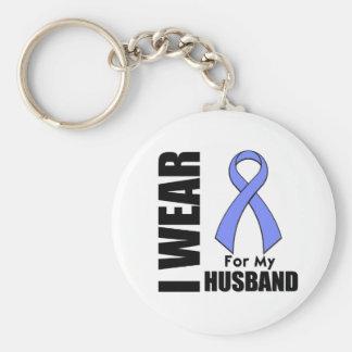 Llevo una cinta del bígaro para mi marido llavero personalizado