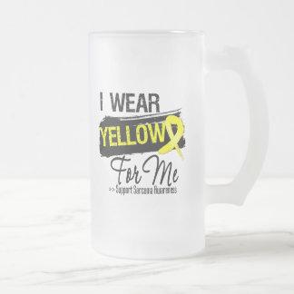 Llevo una cinta del sarcoma para mí taza