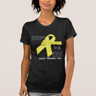 Llevo una cinta para mi marido - sarcoma camiseta