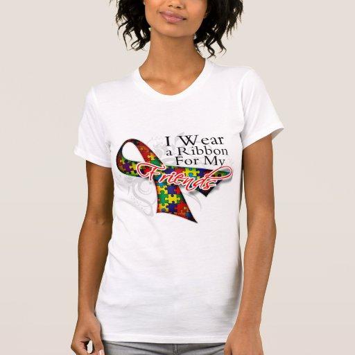 Llevo una cinta para mis amigos - conciencia del a camisetas