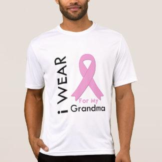Llevo una cinta rosada para mi abuela camiseta