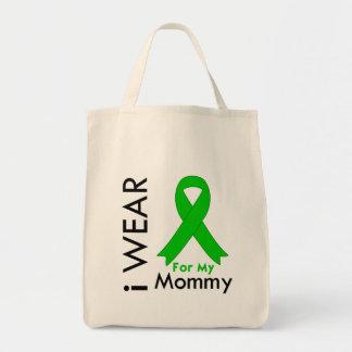 Llevo una cinta verde para mi mamá bolsas de mano