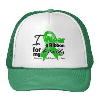 Llevo una cinta verde para mi papá gorras de camionero
