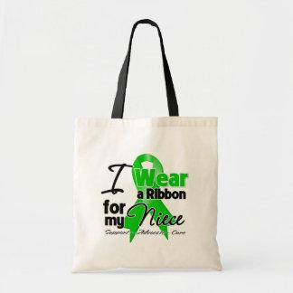 Llevo una cinta verde para mi sobrina bolsa