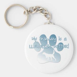 Llewellin Setter Granddog Keychain