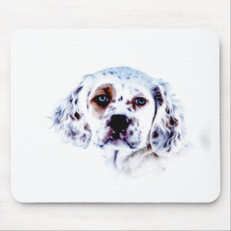 Llewellin Setter Puppy Spruce Mouse Pad