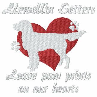 Llewellin Setters Leave Paw Prints