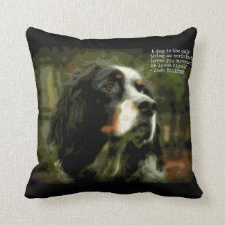 Llewellyn Setter Love Throw Pillow