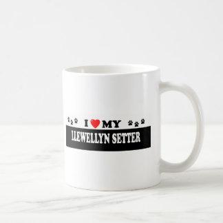 LLEWELLYN SETTER COFFEE MUG