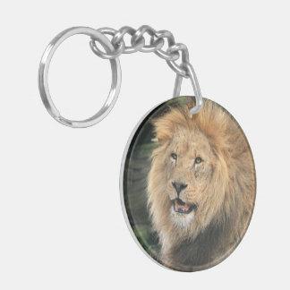 Llion male beautiful photo portrait, gift keychain