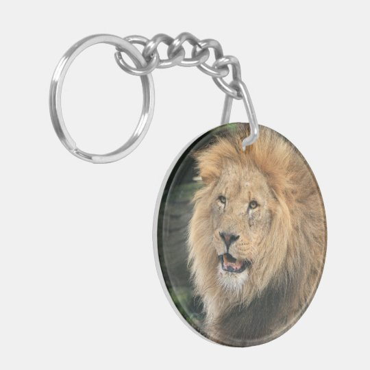 Llion male beautiful photo portrait, gift keychain