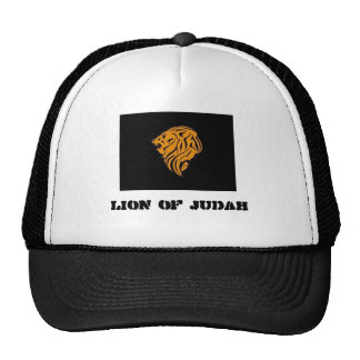 Llion_zion Lion of Judah Trucker Caps