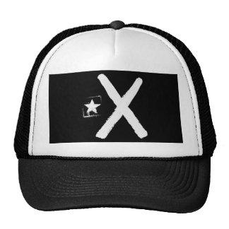 Lliures or morts (black flag) trucker hat