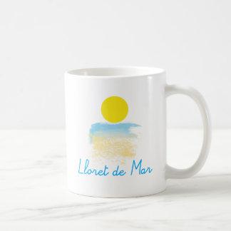 Lloret de Mar beach & sun Coffee Mug