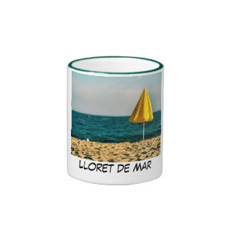 Lloret de Mar, costa Brava Taza A Dos Colores