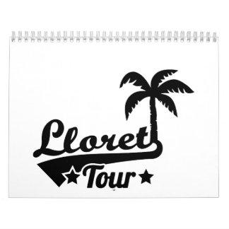 Lloret tour calendar