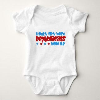 Lloro solamente cuando los republicanos me body para bebé