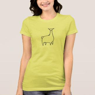 Llove Llama Front-n-Back Tshirts