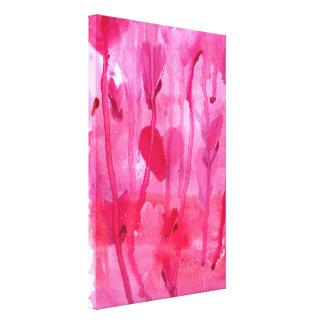 Llover amor lona envuelta para galerias
