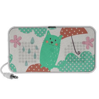Llover gatos iPhone altavoces