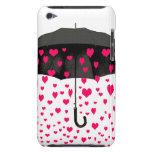 Llover las cubiertas de iPod de los corazones del  iPod Touch Cárcasa