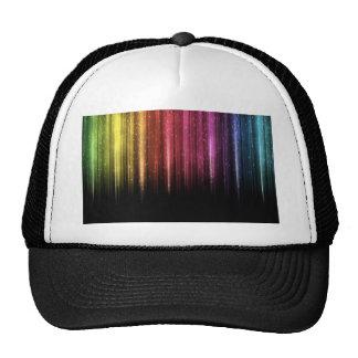 Llover las estrellas del arco iris gorras