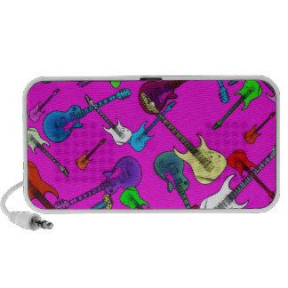 Llover las guitarras iPhone altavoz