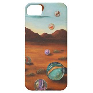Llover los mármoles iPhone 5 protectores