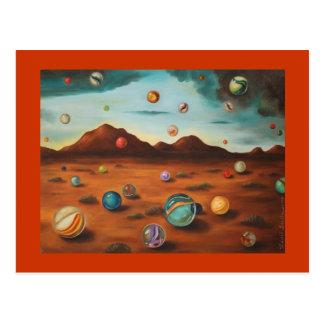 Llover los mármoles tarjetas postales