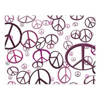 Llover paz postales
