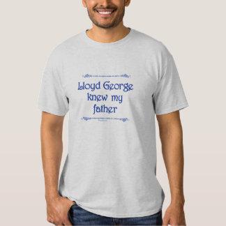 Lloyd George Knew My Father T-shirt (Men's Light)