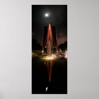 Lloyd L Chirstmas Tree 2003 w/Moon 2 Poster