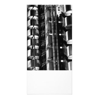 Lloyd s Building London Abstract Personalised Photo Card