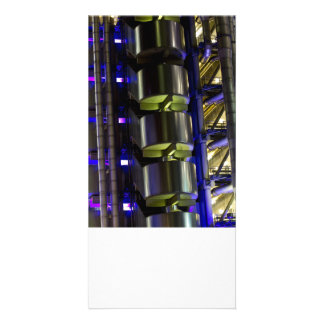 Lloyd s Building London abstract Personalized Photo Card