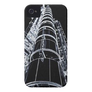 Lloyd s Building London art iPhone 4 Cases