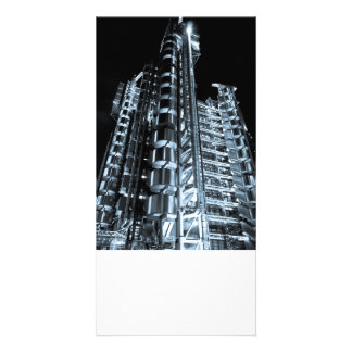 Lloyd s Building London Customized Photo Card