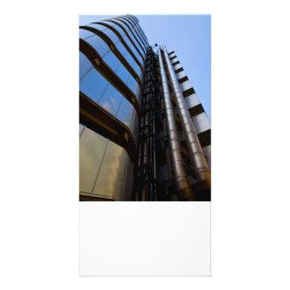 Lloyd s of London building Customized Photo Card