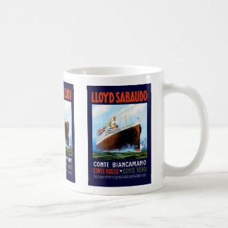 Lloyd Sabaudo ~ Conte Biancamano Coffee Mug