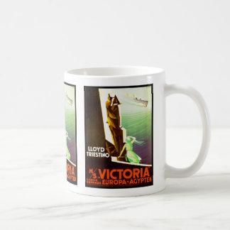 Lloyd Triestino ms Victoria Classic White Coffee Mug