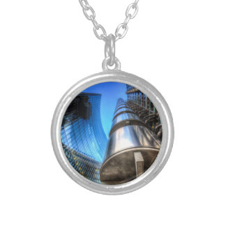 Lloyd's And Willis Group London Silver Plated Necklace