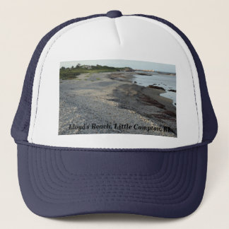 Lloyd's Beach, Little Compton, Rhode Island Trucker Hat