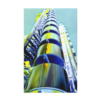 Lloyd's Building London Art Canvas Prints