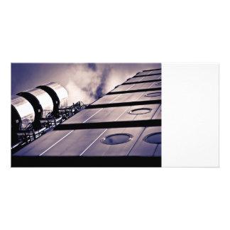 Lloyds Building London Photo Card