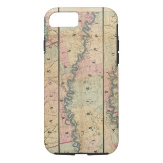 Lloyd's map of the Lower Mississippi River iPhone 7 Case