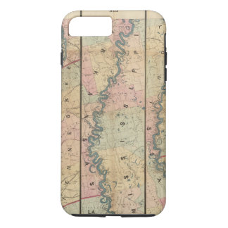 Lloyd's map of the Lower Mississippi River iPhone 7 Plus Case