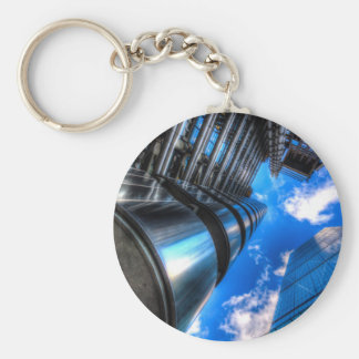 Lloyd's of London and Cheese Grater Basic Round Button Keychain