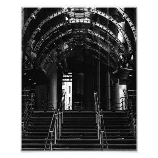 Lloyd's of London Building Entrance in London Photo Print